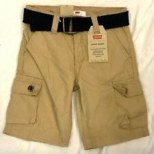 Levi's Little Boys' Belted Cargo Shorts