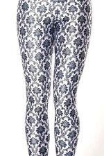 NWT Black Milk Wallpaper White Leggings Size S