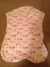 Pink Summer Infant Sleep Bag Sack Small Elephant Soft Comfy Baby Girl