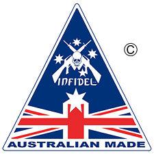 AUSSIE PRIDE AUSTRALIAN MADE STICKER  x3 INFIDEL AUSSIE SOUTHERN CROSS STICKER