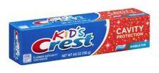 Crest Kids Cavity Protection Tube Toothpaste Sparkle Fun 4.6 oz