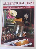 Architectural Digest Magazine Broadway At Home November 1995 081817nonrh2