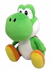 Super Mario Bros. Green Yoshi Plush Stuffed Animal Authentic Doll 7 inch tall