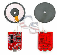 Qi Wireless Charger PCB Circuit Board With Coil Charging Pad for DIY Arduino