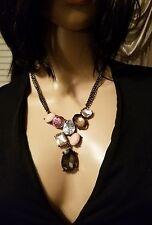 CHICO'S NEW multi stone necklace