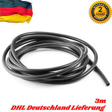 3m Silikon Unterdruck Schlauch 3mm ID Vacuum Steuer Leitung - Schwarz 3 Meter #