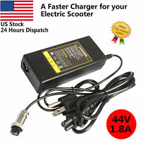Battery Charger For Razor Electric Scooter E100 E300 E125 E150 E175 E500 36V1.8A