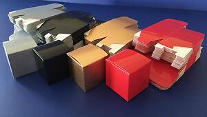 50 x 80mm One Piece Cardboard Cube Box