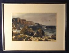 Marion B Guthrie Watercolor American late 20th C.
