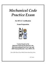 2012 International Mechanical Code Practice Exam on USB Flash Drive