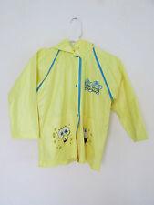 Girl's/Boy's Spongebob Squarepants Rain Coat/Jacket Yellow Size Small/Medium