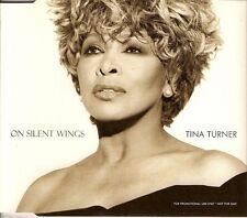"TINA TURNER - CD SINGLE PROMO ""ON SILENT WINGS"""