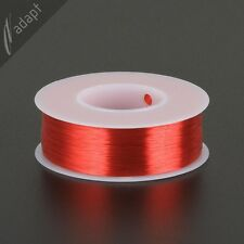 35 AWG Gauge Magnet Wire Red 2500' 155C Solderable Enameled Copper Coil WindingS