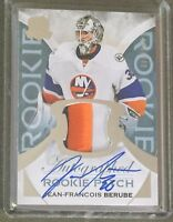 2015-16 The Cup JEAN-FRANCOIS BERUBE Rookie Patch Auto RPA Islanders RC /249