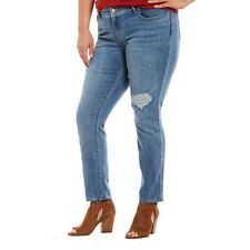 Levis Womens 711 Deconstructed Skinny Jeans Size 20 New