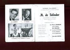 GALA BARRET 1948 M. de TALINDOR autographes P. JOURDAN G. ROLAND C. BONNEVILLE