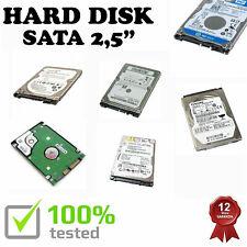 "HDD HARD DISK SATA 160GB 2,5"" DVR PORTATILE DELL ASUS HP LENOVO MSI IBM ACER NVR"