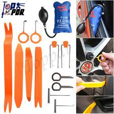 13Pcs Car Panel Removal Tools Kit For Dash Door Radio Trim+ Pump Wedge