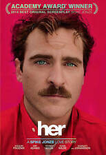 Her (DVD, 2014, Includes Digital Copy UltraViolet) Joaquin Phoenix - NEW!!