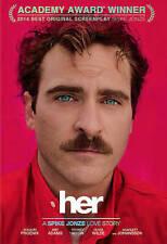 Her (DVD, 2014, Includes Digital Copy UltraViolet)