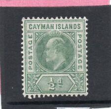Cayman Islands EV11,1905 1/2d green sg 8 H.Mint