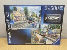 Ravensburger Number Two Railway Heritage 2 x 500 Piece Jigsaw Puzzles