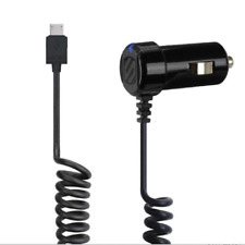 3 Pack Scosche StrikeDrive 12W Micro-USB Fast Car Charger for Android Phones