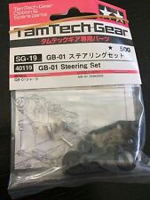 Tamiya RC R/C Parts TamTech-Gear Parts GB-01 Chassis Steering Set #40119 NEW