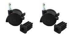 New listing Weber 70360 Locking Caster Spirit Summit Genesis (2 Pack)