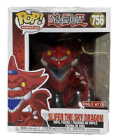 Slifer the Sky Dragon Yu-gi-oh Funko Pop 6 Inch Target Exclusive #756