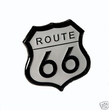 Route 66 motorcycle enamel pin / lapel badge cruiser tourer trike custom