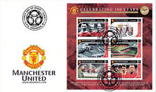 Manchester United - Premiership Football Commemorative Stamp Sheet from Grenada