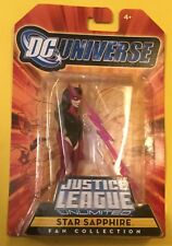 "Star Sapphire Justice League Unlimited 4"" Mattel DC Universe JLU MOC Villain"