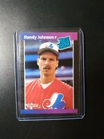1989 Donruss Rated Rookie Randy Johnson #42 Rookie RC Expos