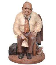 1983 Tom Clark Signed Statue Dr Grey Md Limited Edition, True Builder Series #52