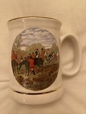 More details for brand new wade pottery collectables famous herring hunting scene tankard mug
