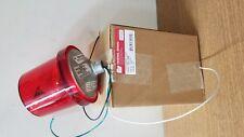 225-120R - Federal Signal Rotating light, 120VAC, red