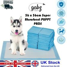 GABZ 56 x 56 CM Super Absorbent Puppy Training Pads Toilet Pee Mats for Dog/Pet