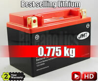 JMT Lithium Motorcycle Battery YTX9 - Yamaha FZR 400  - 1990 - 1994