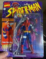 MARVEL LEGENDS RETRO COLLECTION CYBORG SPIDER-MAN FIGURE HASBRO NEW IN HAND 🔥
