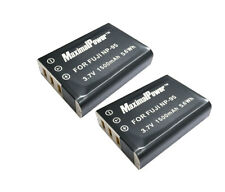 2x Replacement Battery for Fuji NP-95  FinePix F30 F31fd Real 3DW1 X100