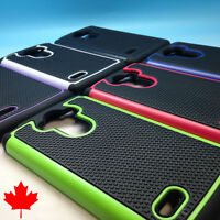 """LG G Stylo Hybrid Heavy Duty Armour Case Tough Shell Silicone Cover 5.7"""""""