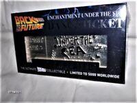 Zurück in die Zukunft Dance Ticket Silver Plated Lim. Edition NEU,OVP,Lizenz