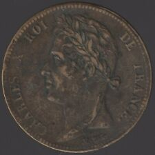 More details for 1825 a french colonies charles x 5 centimes | pennies2pounds