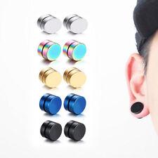 Magnet Magnetic Ear Stud Piercing Earrings Fake Earrings Gift Fashion Jewelry