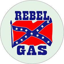 Rebel Gas tin sign Vintage style