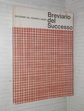BREVIARIO DEL SUCCESSO Selezione dal Reader s Digest 1980 manuale corso libro di