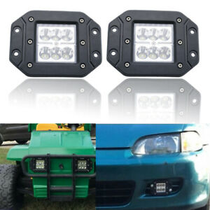 4 inch 18W Motorcycle LED Work Light For Jeep 4x4 SUV ATV Offroad Lada Niva