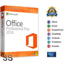 MICROSOFT Office 2016 Professional Plus - 32/64 Bit - Licenza originale Italiano
