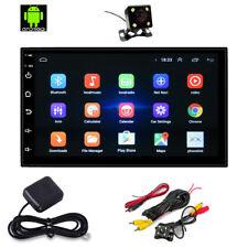 7'' Autoradio 16GB ROM Android 8.0 Navigatore GPS Bluetooth 2 Din + Retrocamera